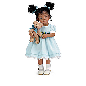 Mayra Garza Poseable Child Dolls With FREE Plush Friends