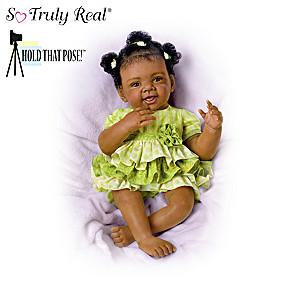 "Waltraud Hanl ""Playful Darlings"" Poseable Baby Dolls"