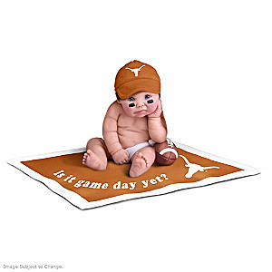 Texas Longhorns Fan Baby Doll Collection