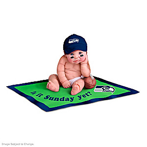 NFL Licensed Seattle Seahawks Baby Doll Collection