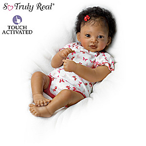 Waltraud Hanl Touch-Activated Lifelike Baby Doll Collection