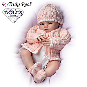 "Lifelike Marissa May ""Sweet Miracles Of Life"" Poseable Dolls"