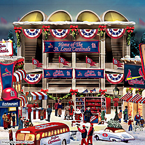St. Louis Cardinals Illuminated Christmas Village Collection