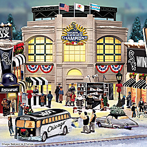 Chicago White Sox Christmas Village Collection