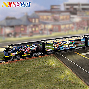"""NASCAR Raceways Express"" Train Collection"