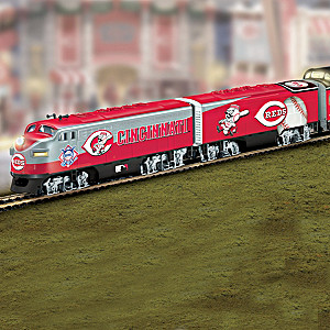 """Cincinnati Reds Express"" Train Collection"