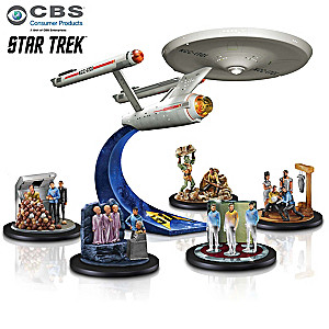 STAR TREK U.S.S. Enterprise Anniversary Figurine Collection