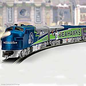 Seattle Seahawks Train Collection With Super Bowl XLVIII Car