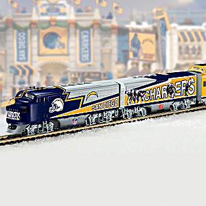 Officially Licensed San Diego Chargers Train Collection
