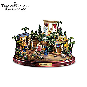 Thomas Kinkade Illuminating Nativity Collection