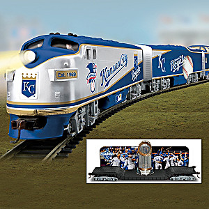 Royals 2015 World Series Champions Electric Train Collection