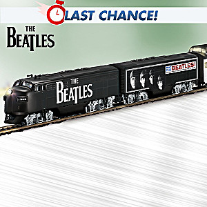 The Beatles Express Illuminated Electric Train Collection