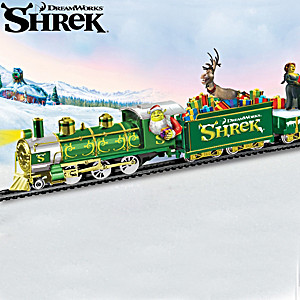 Shrek Holiday Express Train Collection